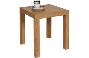 Oak Effect Side Table End Table Oak Effect