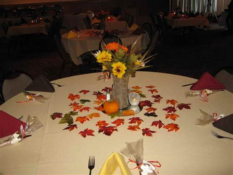fall themed table decorations decoration dining table fall themed decorations fall