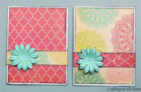 Easy Gift Card - easy handmade cards crafting in the rain