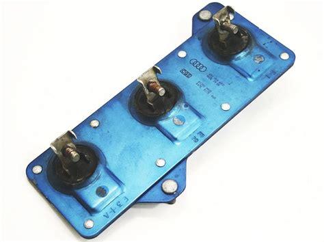 radiator cooling fan resistor radiator cooling fan resistor 97 03 audi a8 s8 d2 genuine 893 959 493 c carparts4sale inc