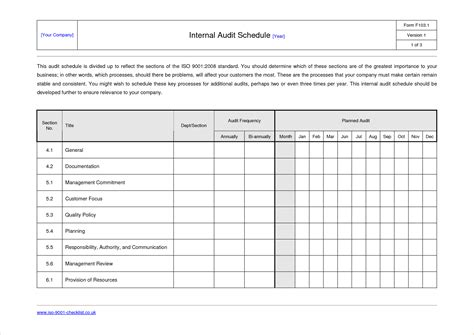sle internal audit report template call center floor