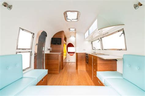 Tiny House Company american retro caravans a refresh on vintage airstream