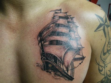 bateau tatouage style divers par jerome tattoo by jerome