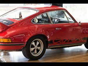 1973 Porsche 911 Rs For Sale 1973 Porsche 911 1973 Porsche 911 Rs 2 7 For