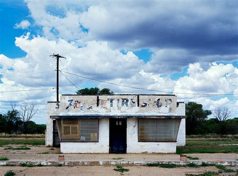 abandoned places in new mexico abandoned tire shop on old route 66 photograph by