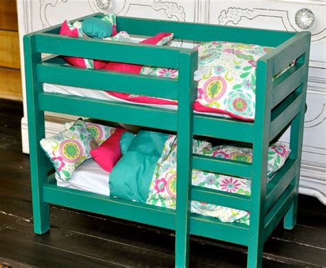 American Doll Bunk Bed White American Doll Bunk Beds Diy Projects Forgotten Farm Furniture