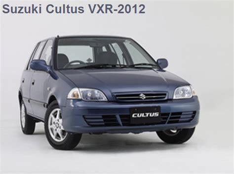 Suzuki Prices In Pakistan Cultus Car Price In Pakistan 2012