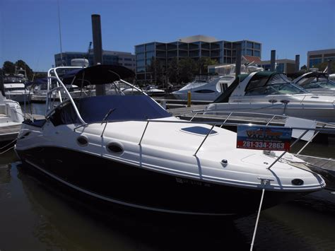 2003 catamaran dr league city tx 2006 sea ray 270 amberjack power boat for sale www