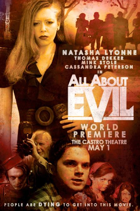 all about evil 2010 trailer and poster for lyonne and dekker s