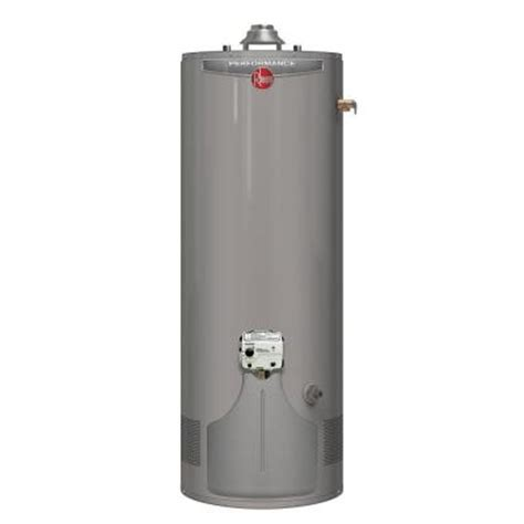 rheem performance 38 gal 6 year 36 000 btu ultra