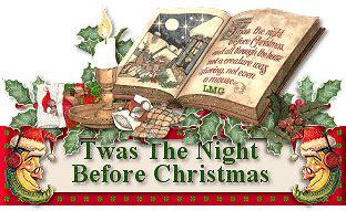 twas the night before christmas merry christmas emoticon