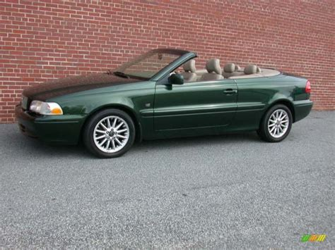 classic volvo convertible 1999 emerald green metallic volvo c70 lt convertible