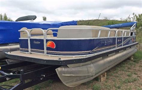 used pontoon boats for sale north dakota used sun tracker pontoon boats for sale page 2 of 7