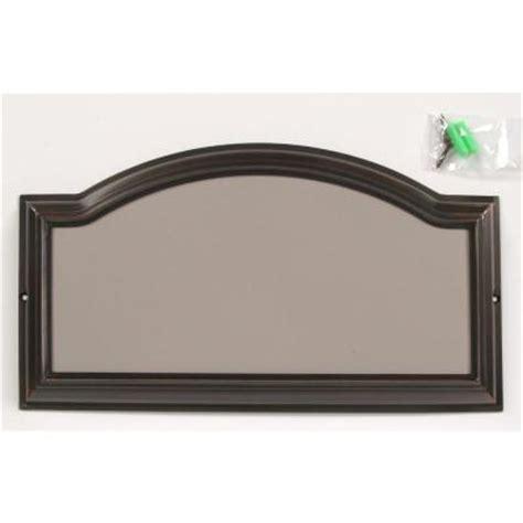 the hillman distinctions aged bronze address plaque