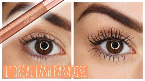 Mascara L Oreal Lash Paradise worth the hype l oreal lash paradise mascara s