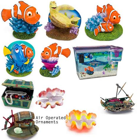 Disney Aquarium Decorations by Disney Finding Nemo Aquarium Fish Tank Ornament Marlin
