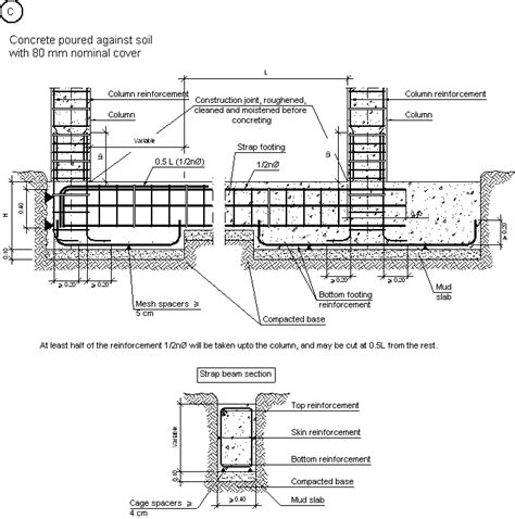 nudo wall base construction details cype csz013 c intermediate and
