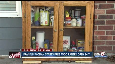 Franklin Ohio Food Pantry by Franklin Starts Free Self Service Food Pantry Open