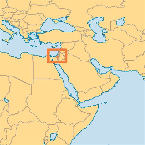 where is jerusalem on the world map israel operation world
