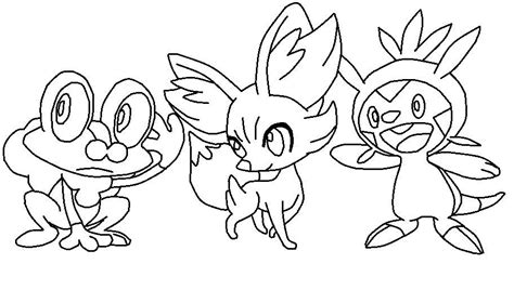pokemon coloring pages chespin pokemon xy desenhos para colorir
