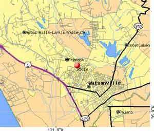 map of watsonville california 95019 zip code watsonville california profile homes