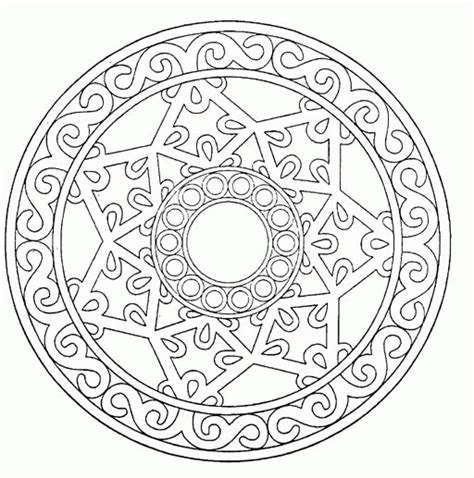 mandala coloring in pages mandala coloring pages coloringpagesabc