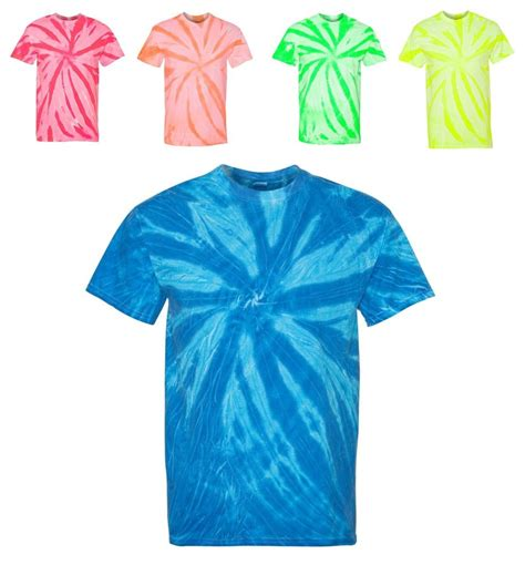 Mukena Tie Die 1 neon tie dye t shirts crewneck preshrunk tye die dyed died s m l xl 2x 3x ebay