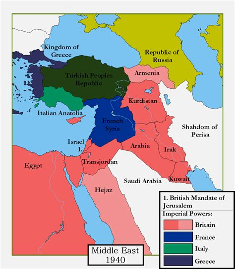 partitioning of the ottoman empire pre ww1 middle east map