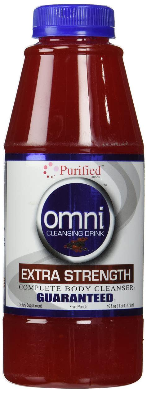 Omni Detox Drink For by Omni Cleansing Drink Strength Orange