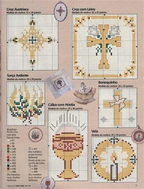 imagenes catolicas en punto de cruz manualidades bautizo punto de cruz imagui