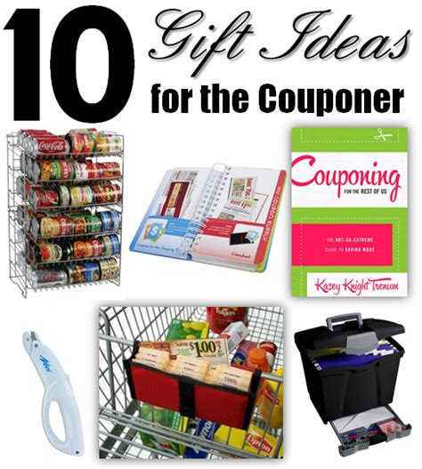 gift ideas for 2013 10 gift ideas for a couponer