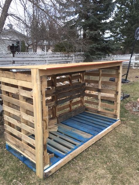 diy firewood rack pallets the world s catalog of ideas