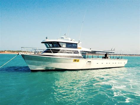 fishing boat hire broome overnight fishing charters absolute ocean charters broome