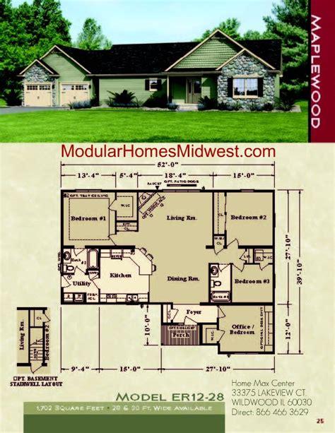 modular homes ranch floor plans rochester modular homes