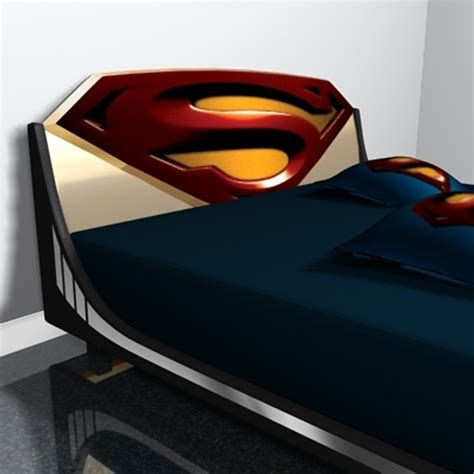 Superman Toddler Bed by Superman Headboard Superman Bedroom Beds