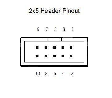 Header Idc Bengkok 2x5 Murah armdroid 1 interface bench test part 1