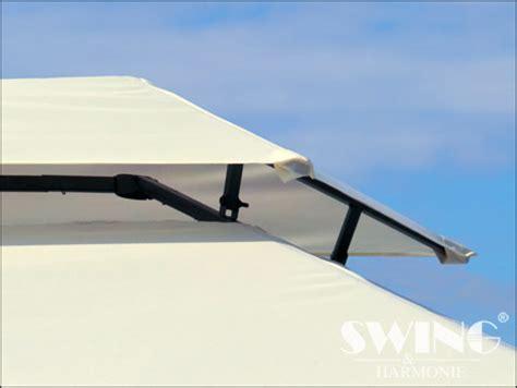 günstige pavillons 3 x 4 polyrattan havepavillon 3x4m brun polyrattan