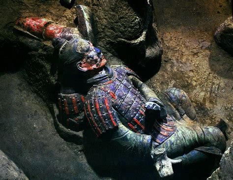 warriors colors terracotta warriors and horses the underground army of