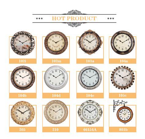 decorative quartz large decorative quartz analog islamic wall mounted time