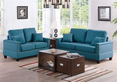 nailhead trim sofa set modern 2 pcs sofa set loveseat nailhead trim arm