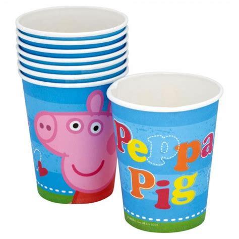 peppa pig piatti e bicchieri bicchieri peppa pig