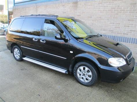 Kia Cars For Sale Uk Used Kia Sedona 2006 Black Colour Diesel 2 9 Crdi Se 7