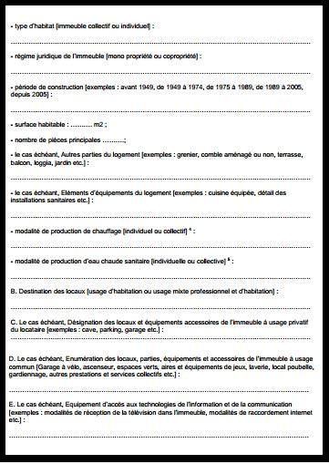Contrat De Bail Location Meublée by Contrat De Location Meubl 233 Bail Type 2019 Gratuit 224 Imprimer