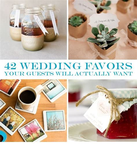 42 wedding favors your guests will actually want wedding favors and ideas