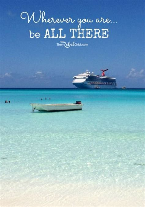 Crusie On Being A Quote by Cruise Ship Sayings Fitbudha