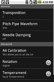 cleartune apk free app cleartune chromatic tuner apk for windows phone android and apps