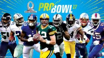 2017 nfl pro bowl rosters announced raiders and falcons lead teams