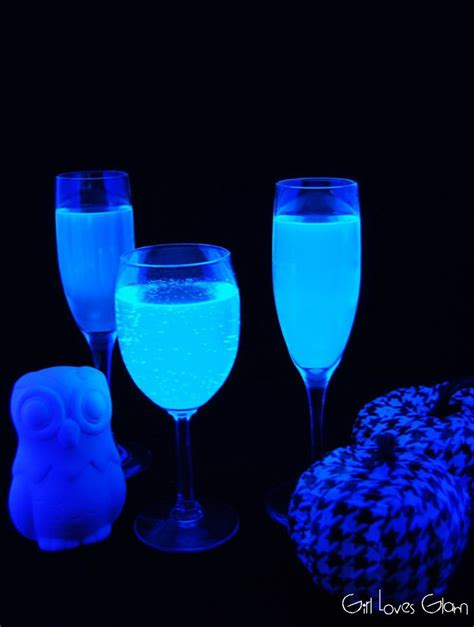 Chinese New Year Home Decor black light glowing gin tonic cocktail cheap easy