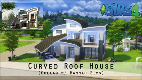 curved roofs sims 4 the sims 4 house building curved roof house collab w