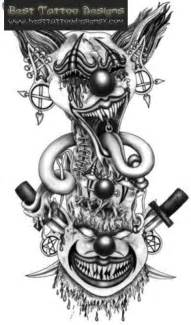 evil clown tattoo designs tattoobite com